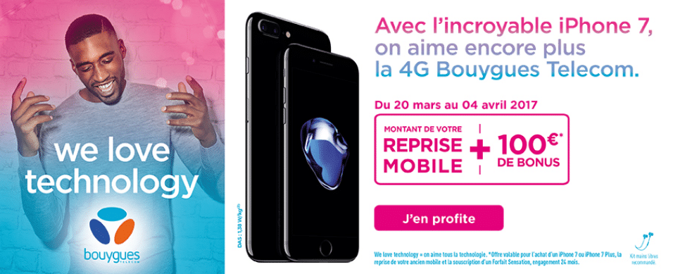 Bouygues Reprise Iphone