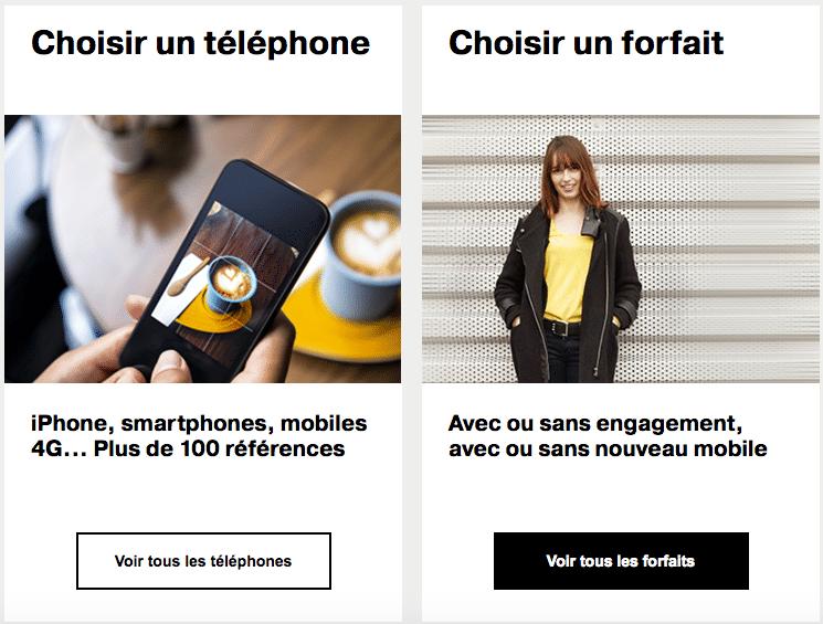 Choisir un forfait mobile Orange