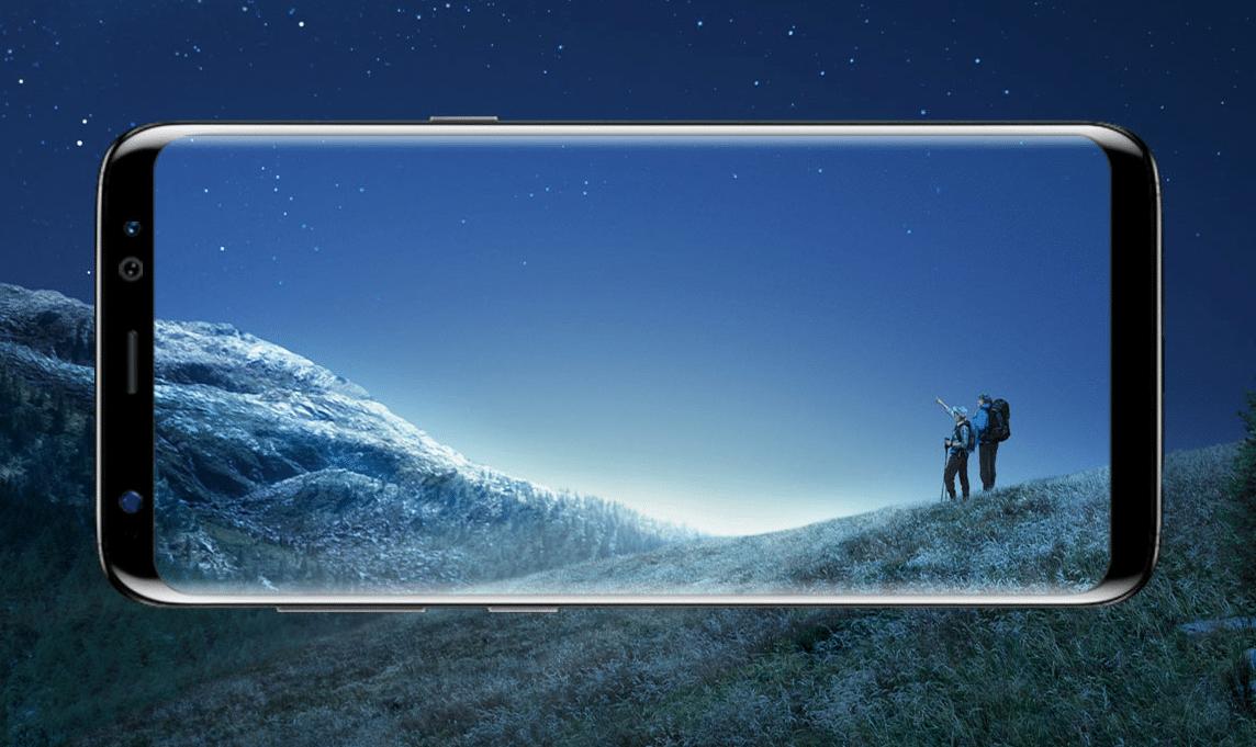 Galaxy s8 et s8 plus quel forfait sans engagement choisir for Photo ecran galaxy s8