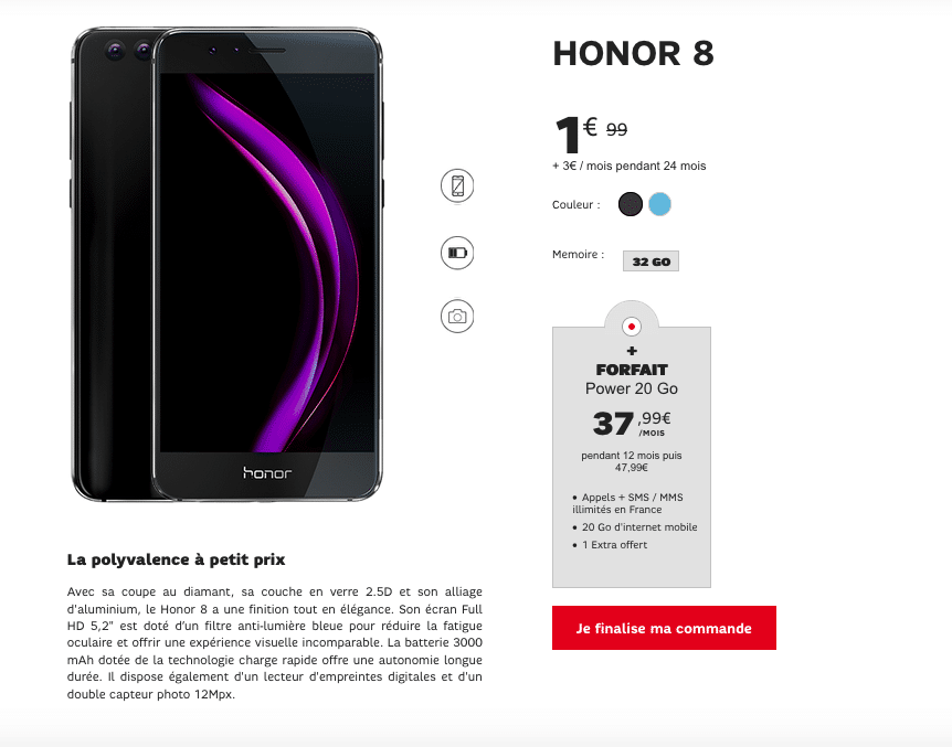 Promotion Honor 8