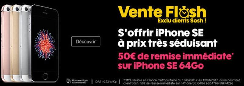 Vente flash sosh 50 euros de remise l 39 achat de l - Vente flash internet ...