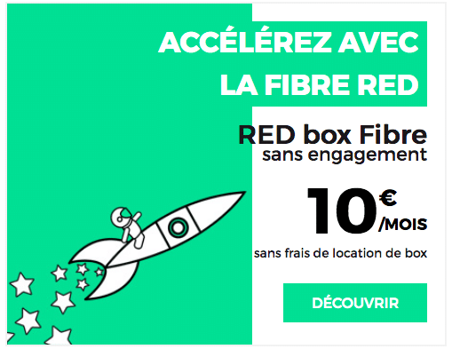 Box internet RED by SFR à 10 euros