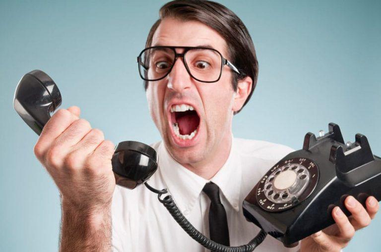 demarchage telephonique en inconnu