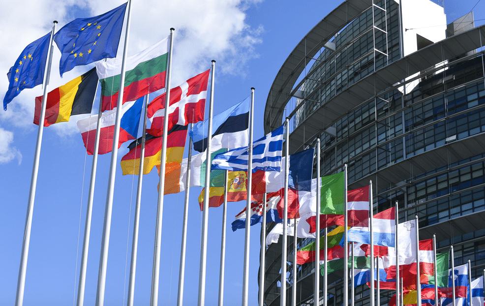drapeaux d'europe