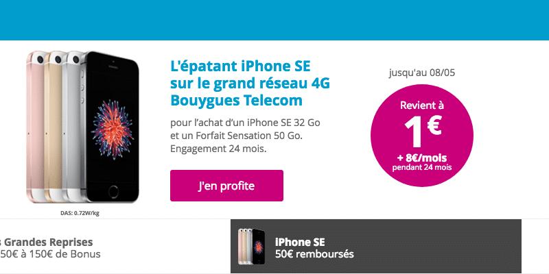 50 euros Bouygues