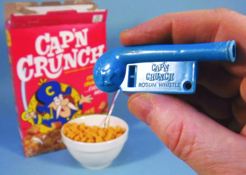 sifflet de phreaking captain crunch