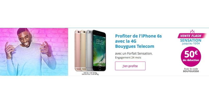 Code Promo Bouygues Telecom Iphone