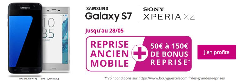 Bonus reprise téléphone chez Bouygues Télécom
