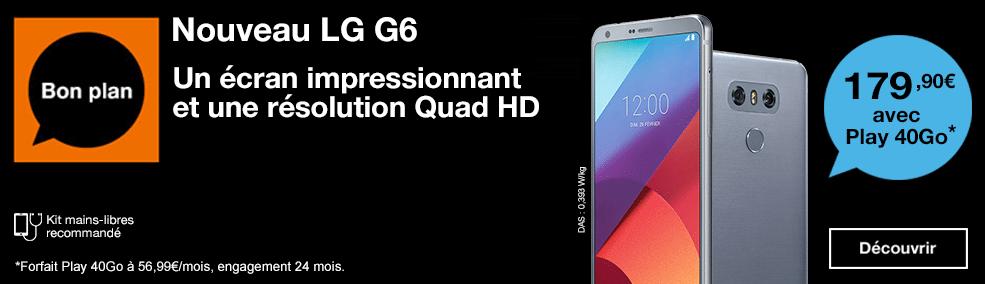 LG G6 Orange