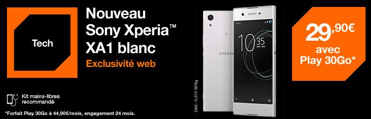 exclu web XA1 orange