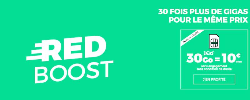l 39 offre internet avec le forfait 30 go de red by sfr 20 mois vie jusqu 39 ce soir. Black Bedroom Furniture Sets. Home Design Ideas