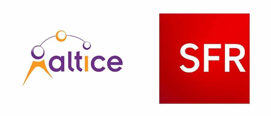 Logo SFR par Altice