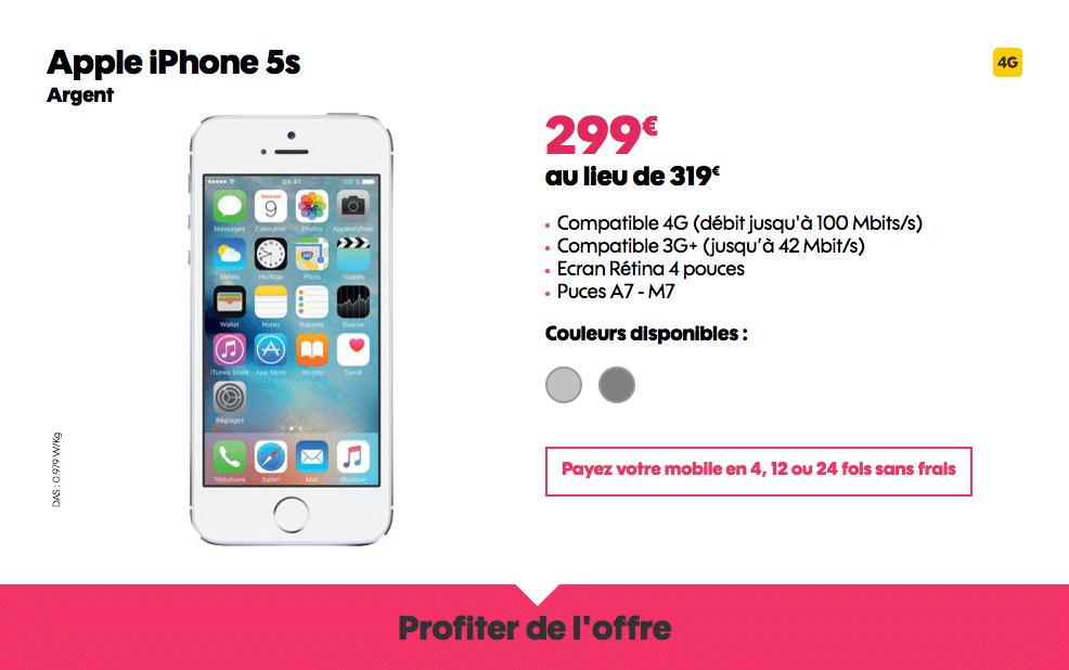 iphone 5s sosh