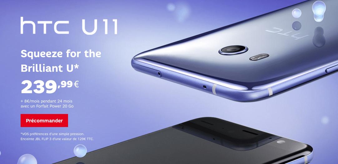 SFR HTC U11