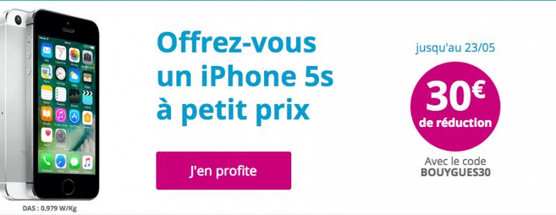 iPhone 5S Bouygues Télécom