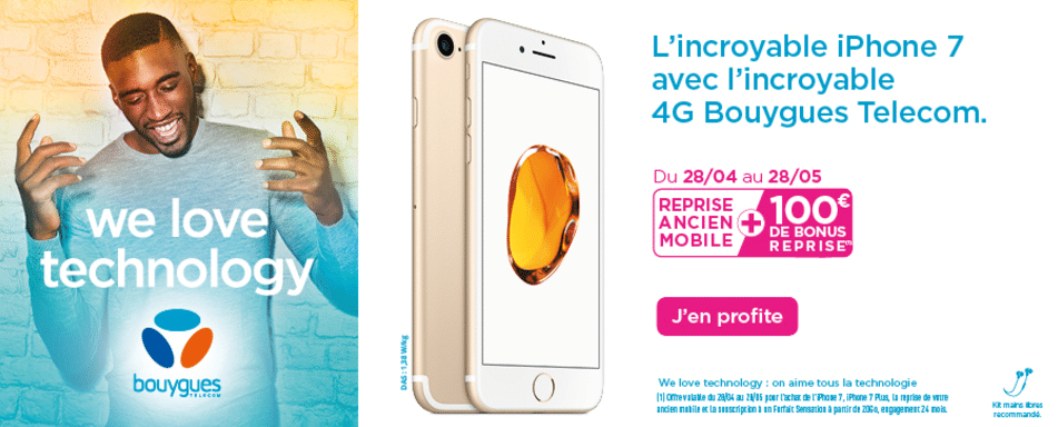 reprise iPhone Bouygues