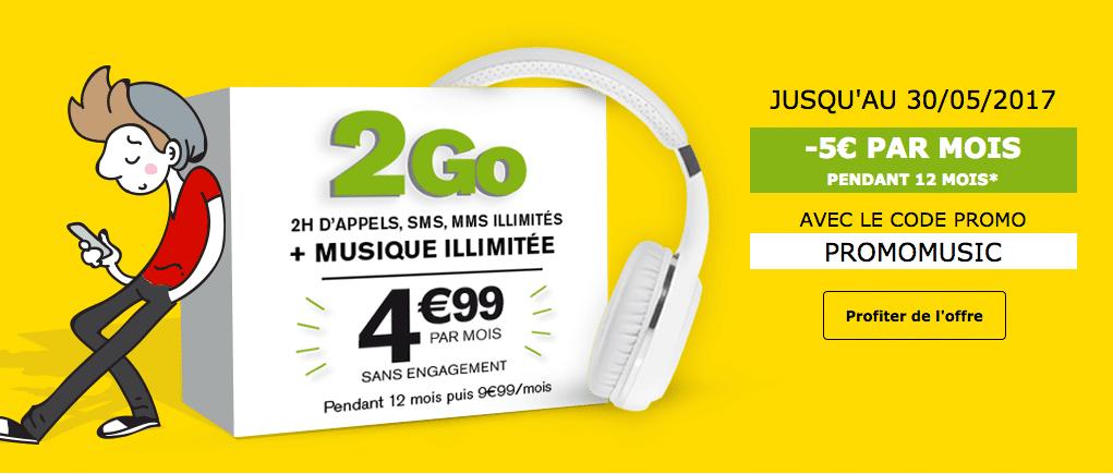 5 euros de réduction à La Poste Mobile