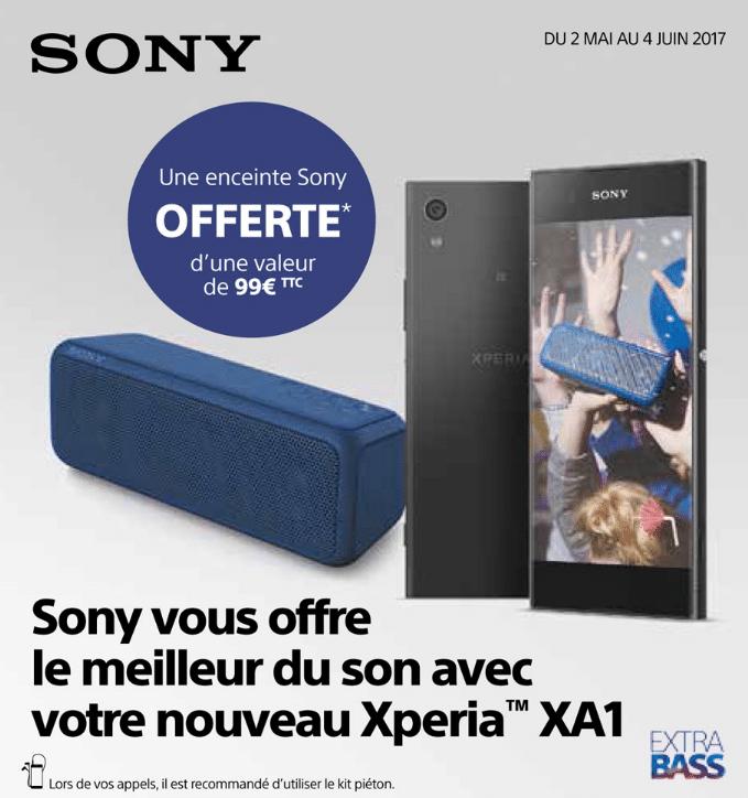 enceinte Sony Xperia