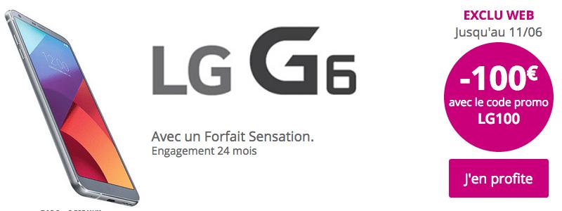 Téléphone LG G6 Bouygues Télécom