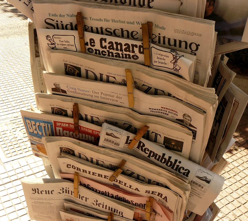 service de presse kiosk