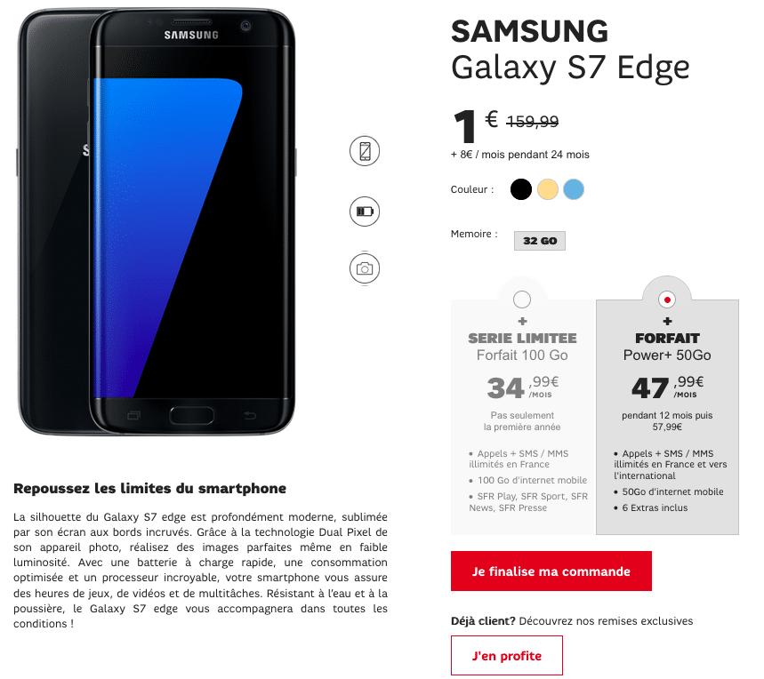 sfr galaxy s7 edge