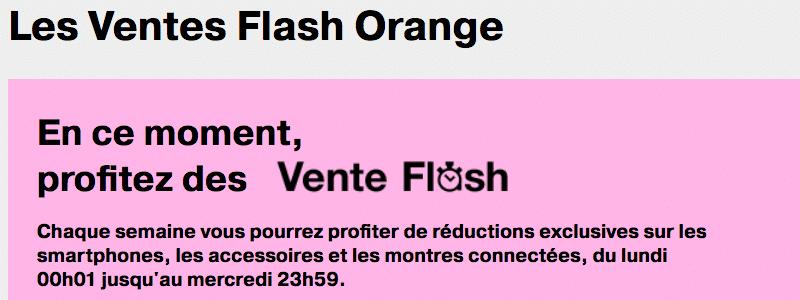 Orange vente flash et 100 rembours s sur les iphone 6s et 6s plus - Vente flash telephone ...