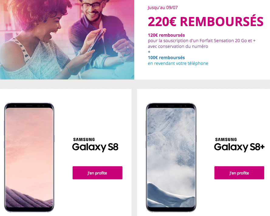 Bouygues telecom galaxy