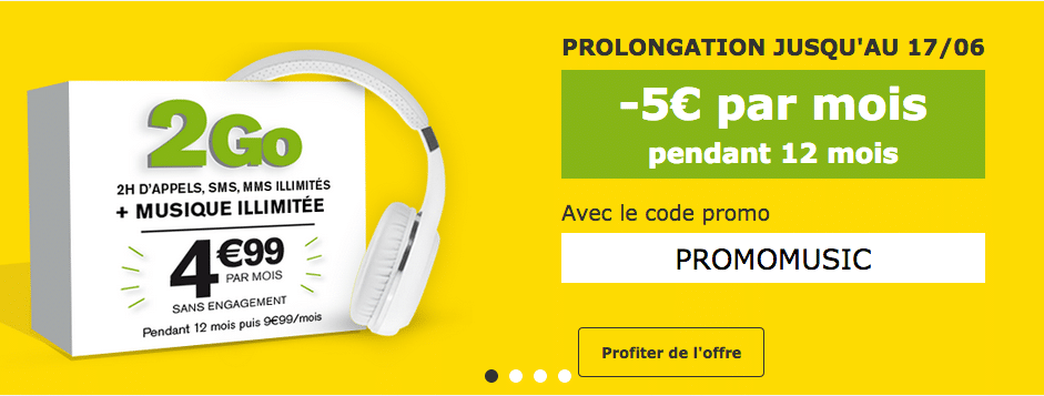 La poste mobile promomusic
