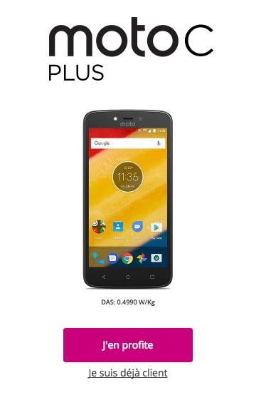 C plus Moto Motorola