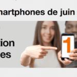 Orange: les bons plans de juin avec jusqu'à 100€ de remise sur une sélection de smartphones