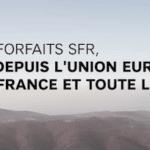 SFR: des promotions sur les forfaits mobiles de l'opérateur disponibles dès 7,99€/mois