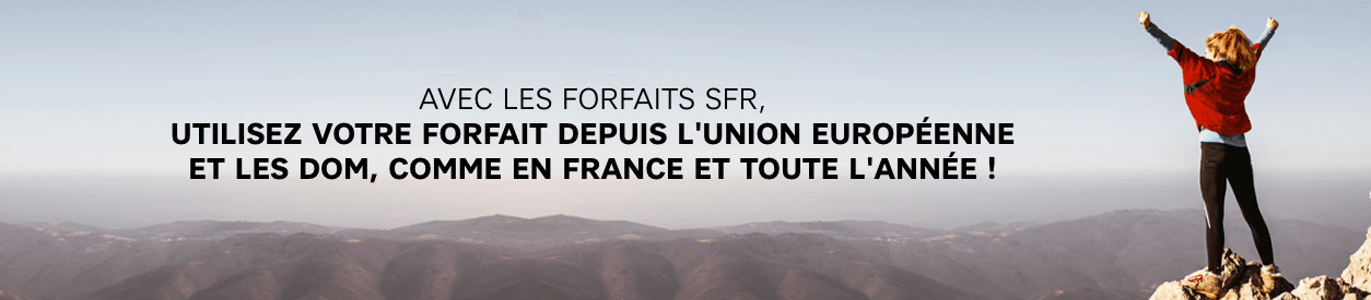 SFR forfaits europe
