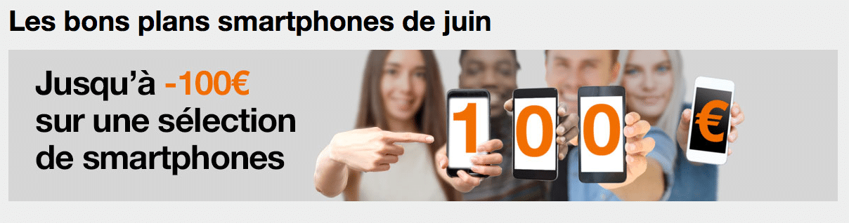 Orange reprise smartphones