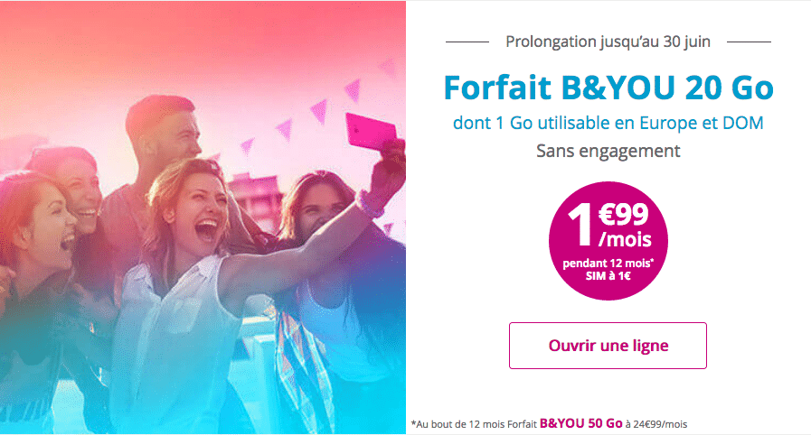 bouygues forfait 20
