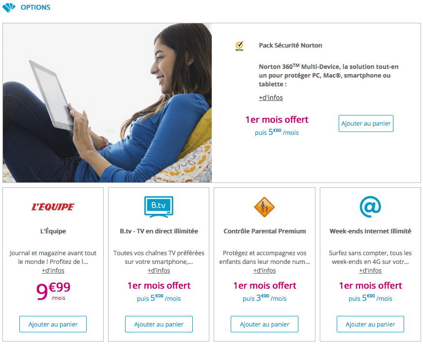 bouygues options forfaits