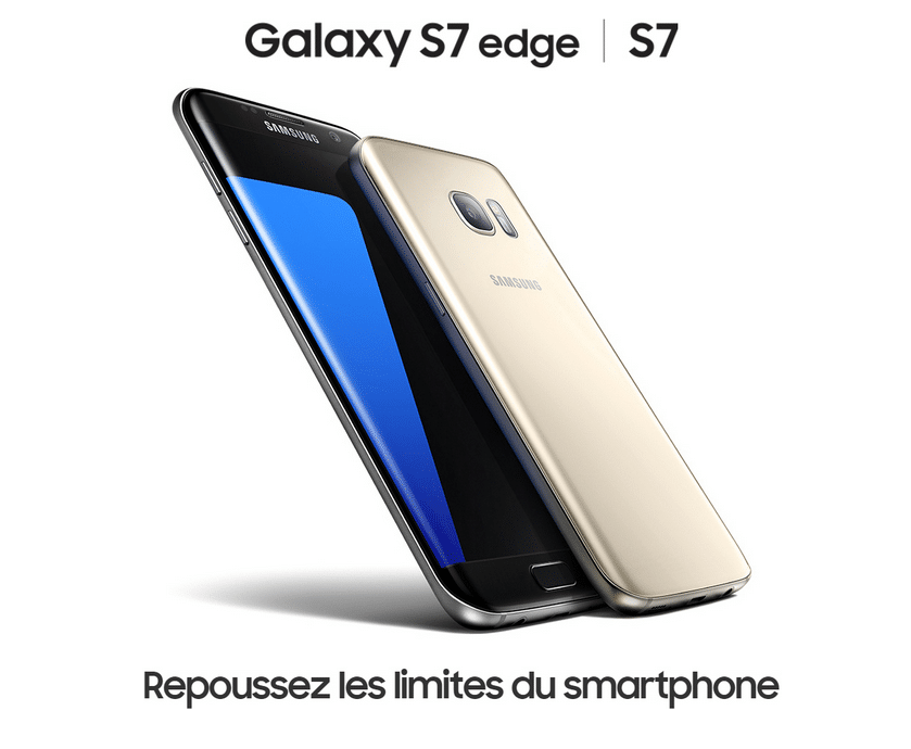 bouygues telecom samsung galaxy S7 edge design