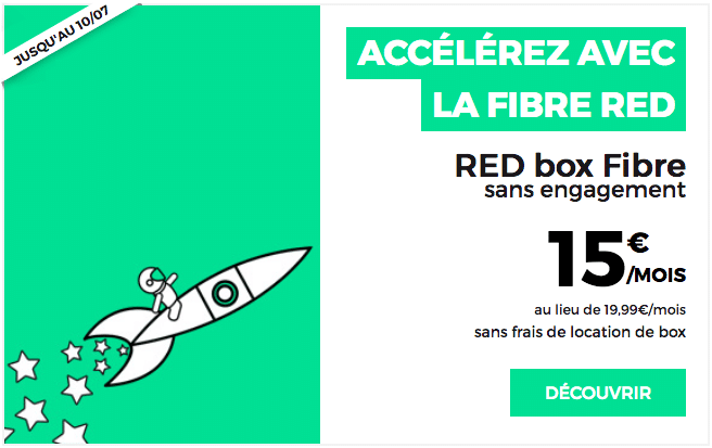 Offre internet Fibre RED by SFR