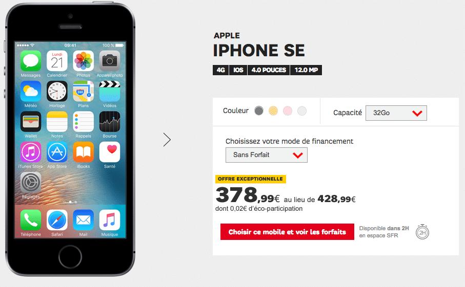 Forfait Sfr Avec Telephone Iphone