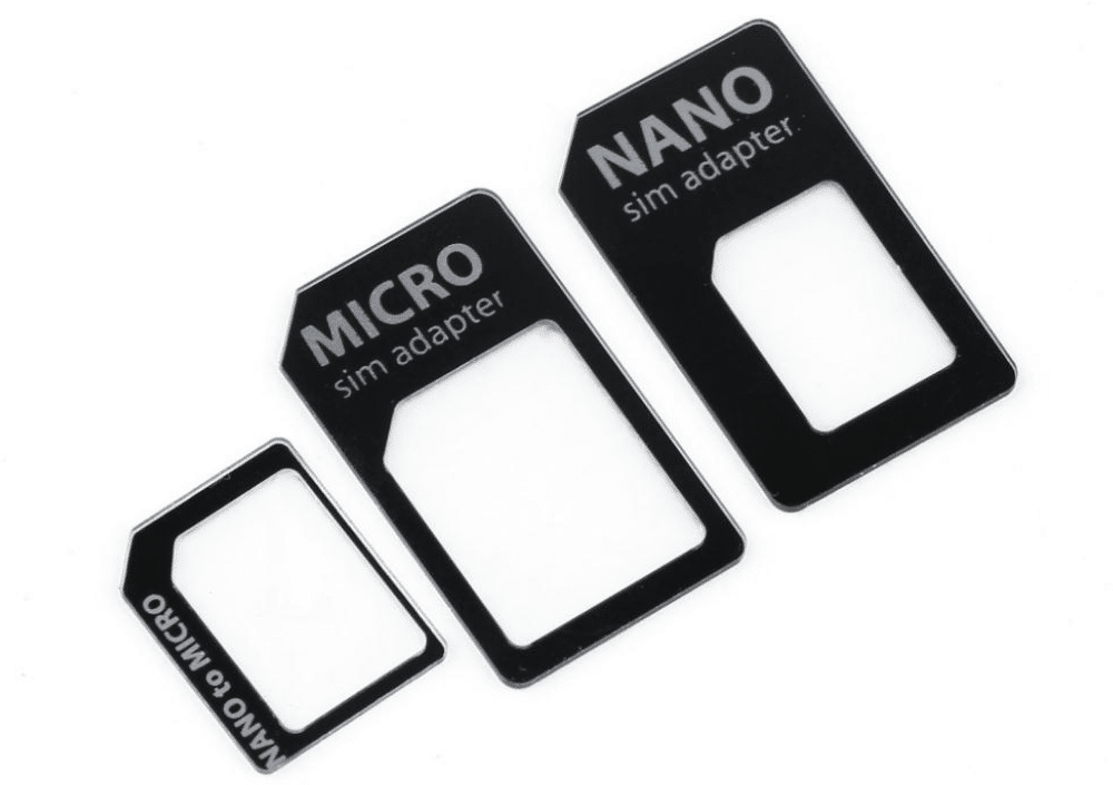 Adaptateurs Micro et Nano SIM
