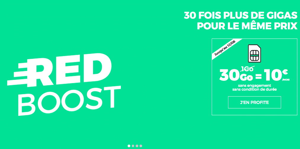 red forfait 30 Go