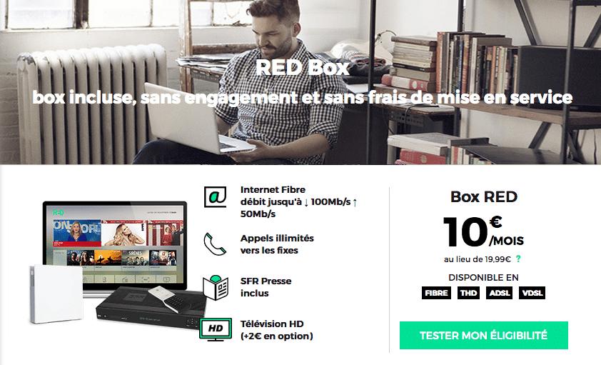 red la redbox internet