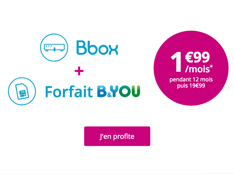Bbox + forfait