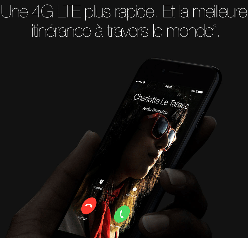 4G LTE iPhone 7