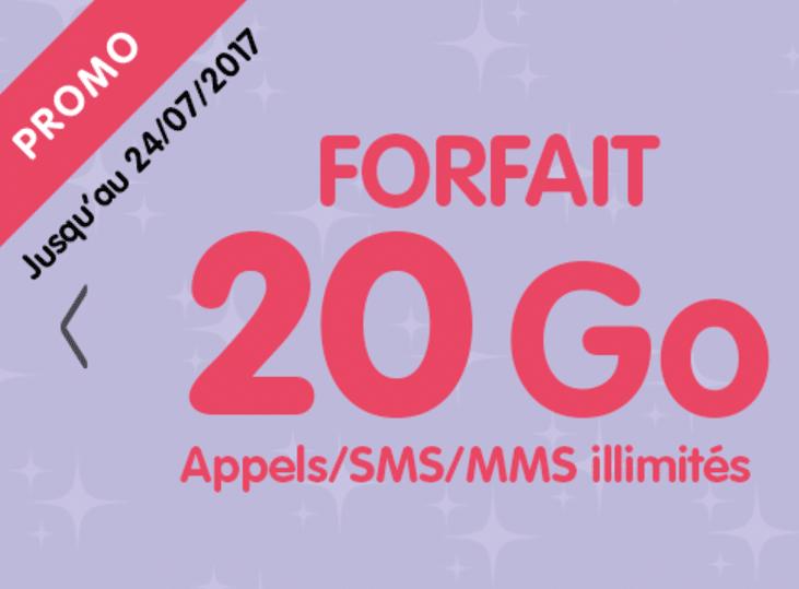 forfait 20 Go