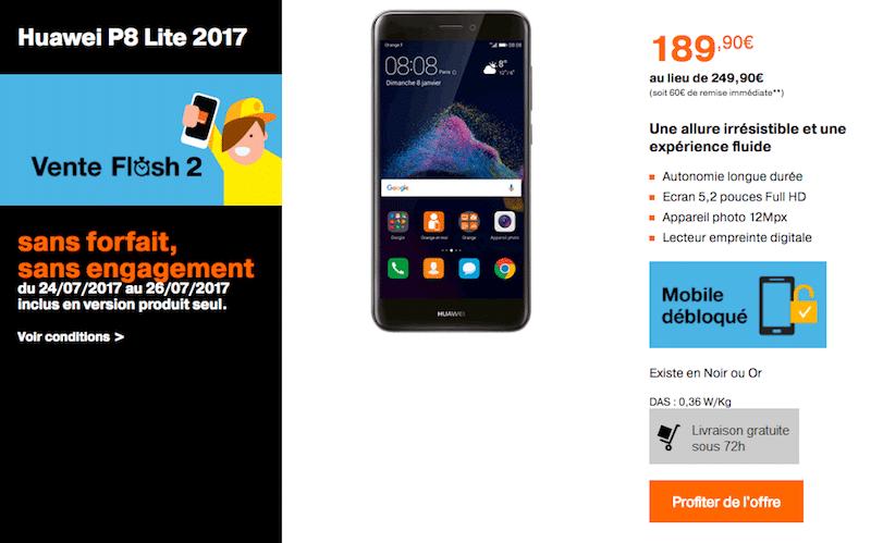 Huawei vente flash