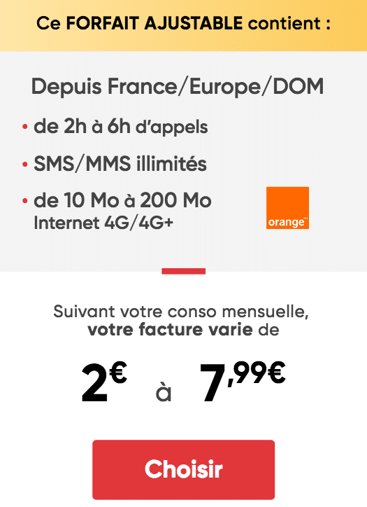 2€ prixtel