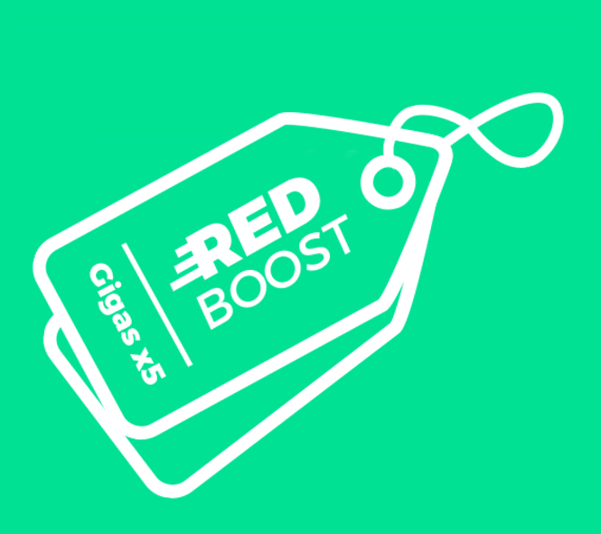 RED Boost RED