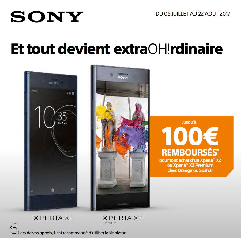100€ Sony