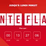 SFR: plus que quelques heures pour profiter de la vente flash offrant jusqu'à 180€ de remises