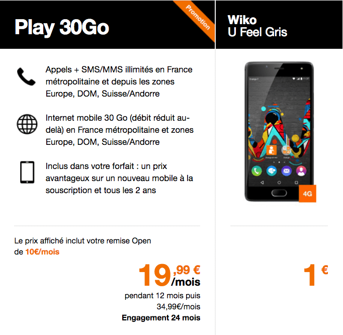 Wiko play 30